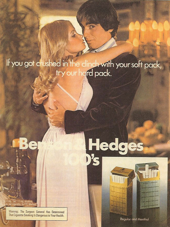 Benson_and_Hedges_Ad from August Bullock's The Secret Sales Pitch